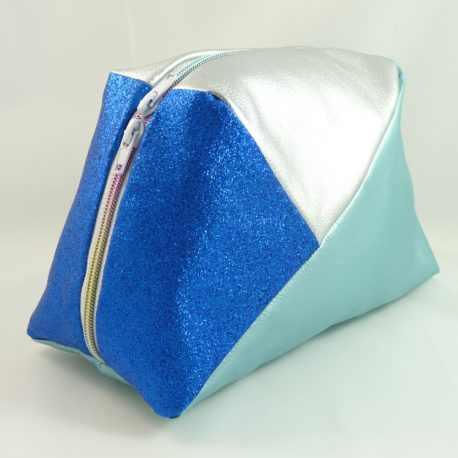 Geo-Bag-Blau