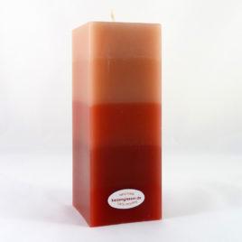 Gradient 4-Eckquader in Rosé und Rot